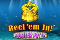 Reel em in Lobster Potty Logo