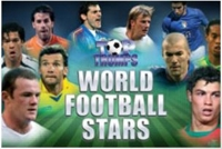 Top Trumps World Football Stars logo