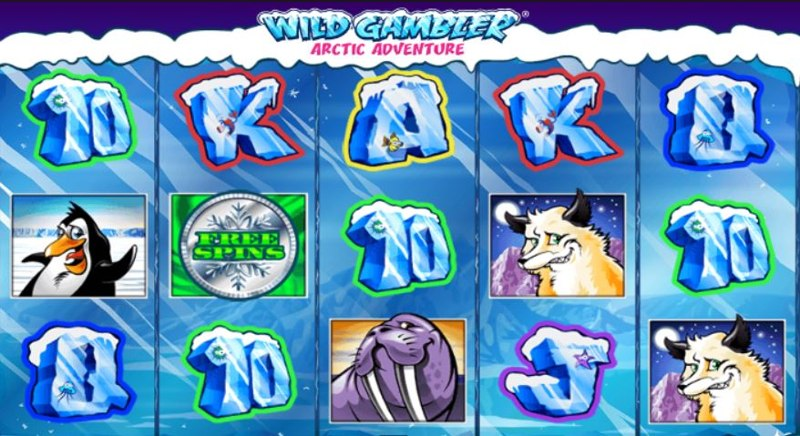 Wild Gambler: Arctic Adventure Screenshot