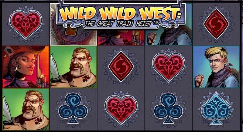 Wild Wild West – The Great Train Heist Screenshot